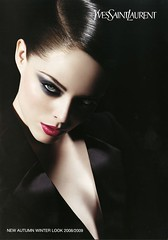 coco rocha for YSL (newsha111990) Tags: black make up fashion ad ysl coco brand rocha