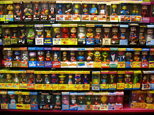 A Wall of Wacky Wobblers