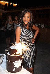 vivica fox smiling on her birthday