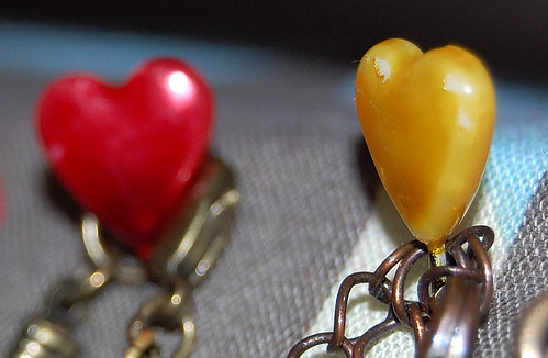 Cute heart pins