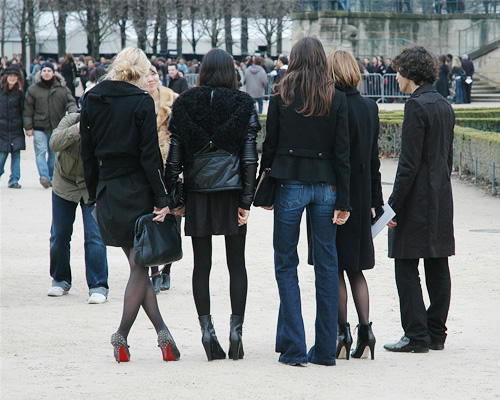 The Paris Vogue Crew