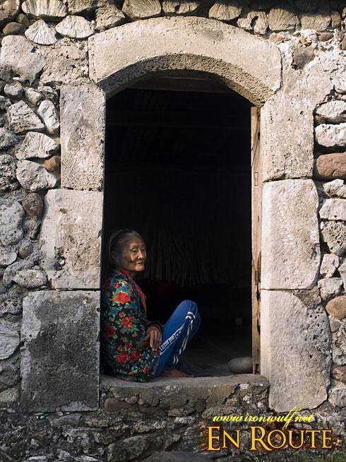 Lola Ida at the Door
