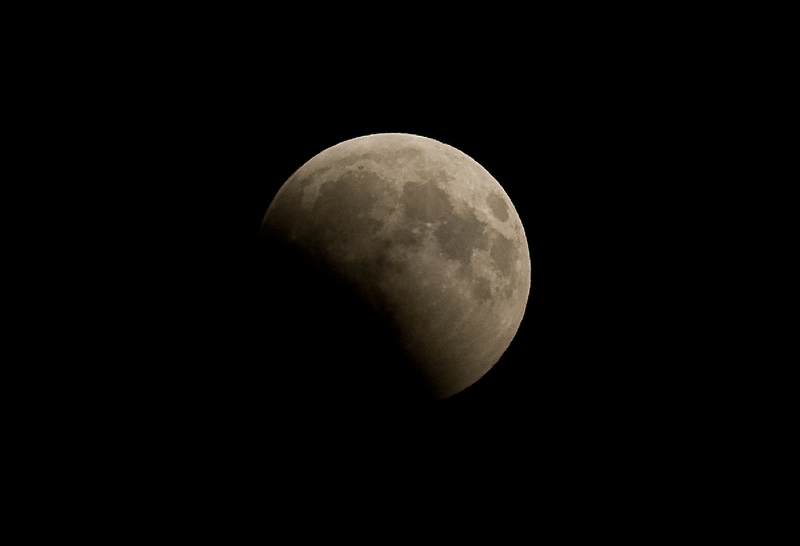 Partial Eclipse of the Moon Aug 16, 2008