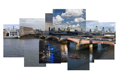 A week in the life (Jon Cartwright) Tags: city london composite thames river 50mm nikon time suicide stpauls 50mm14 nikkor embankment blackfriarsbridge d300 weekinthelife stpauscathedral