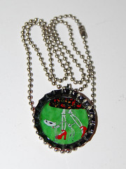 "Welcome Home 1"" BOTTLECAP NECKLACE"