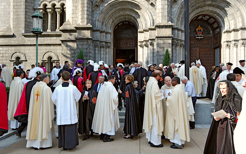 Cathedral Basilica of Saint Louis, in Saint Louis, Missouri, USA - Archbishop Burke Farewell Mass, crowd