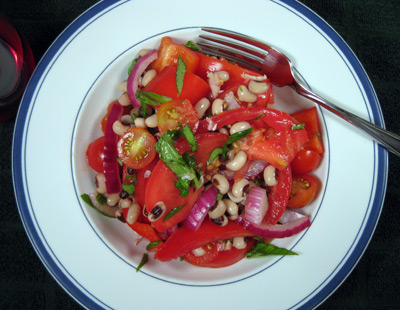 Tomato & Black-eyed Pea Salad
