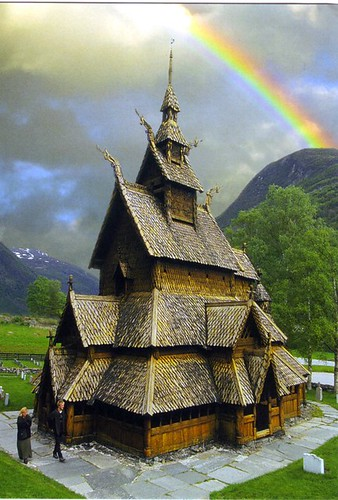 Borgund Stave Church, Norway, NO 13056