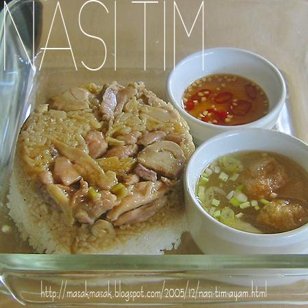 Sexy Chef Nasi Tim Ayam
