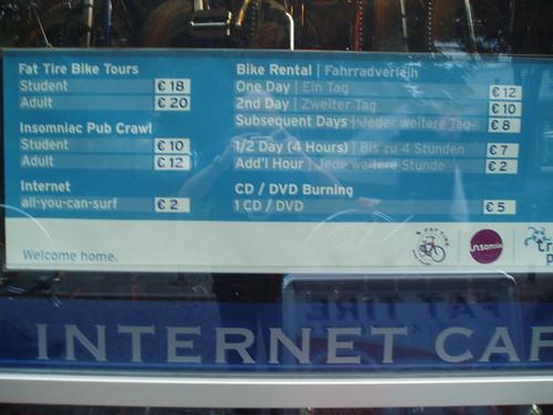 Tarifas alquiler de bicicletas en Berlín