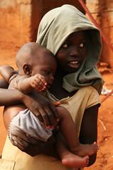 Sisters (AdamCohn) Tags: africa baby girl westafrica benin bopa lakeaheme adamcohn httpwwwadamcohncom