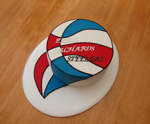 Steeler's cake