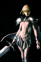 Clare No. 47 - Claymore (chanchan222) Tags: anime toys clare vinyl figures 47 pvc claymore danchan danielchan chanchan222 wwwchanofamericacom chanwaibun