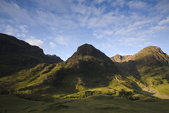 The Three Sisters, Glen Coe (The Flying Pig) Tags: green clouds canon landscape eos scottish threesisters glencoe 5d hiddenvalley naturesfinest nohdr