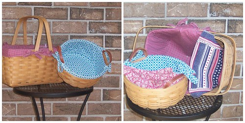 Reversible Basket Liners