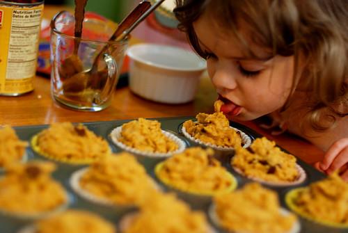 pumpkin muffins 011