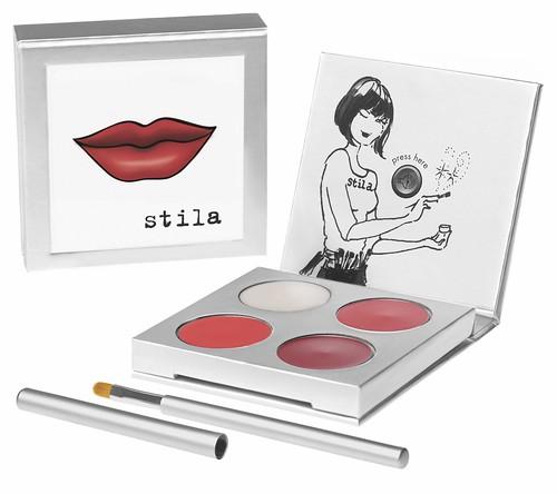 Stila Paint your pout red palette