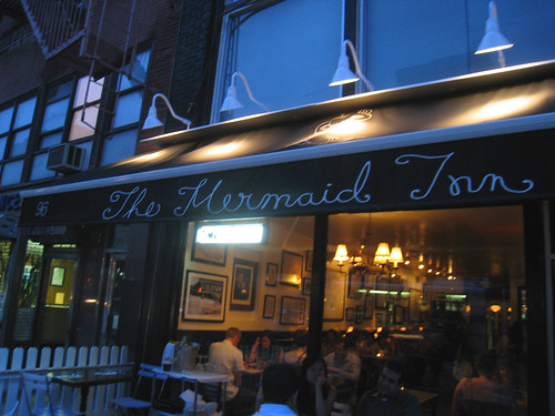The Mermaid Inn in the East Village