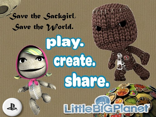 Save the Sackgirl, Save the World