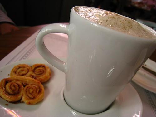 Mushroom Cappuccino @ White Rabbit