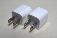 超コンパクトUSB電源アダプタの交換品が届く