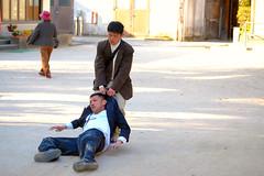 Drunk Fight 3 (Bracus Triticum) Tags: people japan drunk fight fukuoka kyushu dazaifu