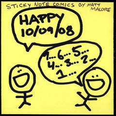 Happy 10/09/08