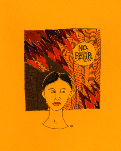 no fear painting