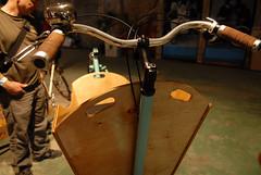 Oregon Manifest Bike Show Day 1-10 (BikePortland.org) Tags: builders framebuilders metrofiets oregonmanifesthandmadebikeshow oregonmanifesthandmadebikeshowday1 bakfietsmadeinportland portlandmadebakfiets