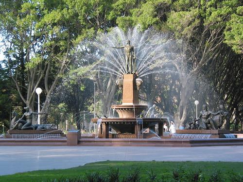 Archibald Fountain - Hyde Park, Sydney