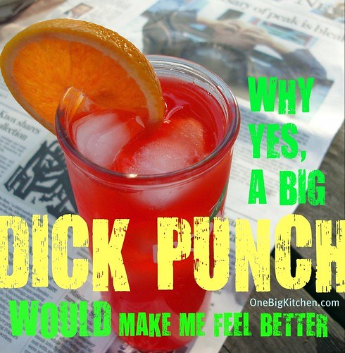 Dick Punch Cover 2 OneBigKitchen.com