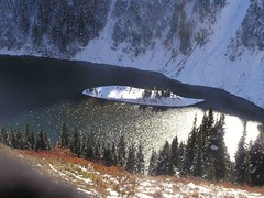 Lake Ann - with lone Larch on the island