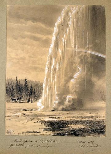016- El Splendid- Gran Geyser  en el parque Yellowston Wyoming
