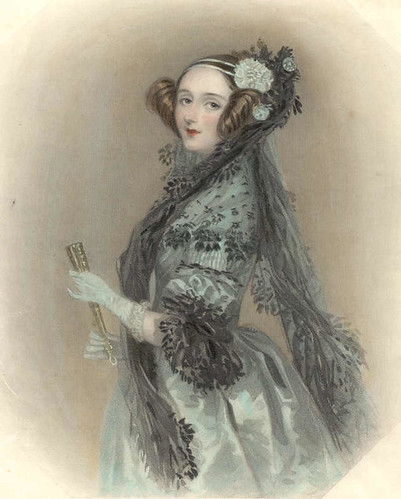 Ada Lovelace, 1838 by Nefi.