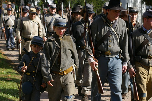 Civil War Skirmish at the Mill