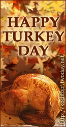 Blog-Event XL: Happy Turkey Day
