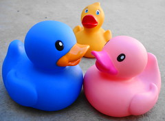 Unfaithful (Srch) Tags: rita lolita rubberducks unfaithful engao yellowduck blueduck pinkduck colourartaward blucky ritalapatita