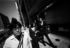 "Afterimages of TANATOS : ""trigonometry"" (TommyOshima) Tags: voigtlander osaka konica agfa rodinal apx 15mm swh selfdeveloped superwideheliar monochorme apocrypha hexarrf tanatos 幻視展 タナトス"