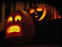 Jack-o-lanterns (carobe) Tags: halloween pumpkins jackolanterns