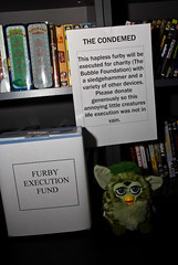 Robin's Rocky Horror Science Party with Furby Execution