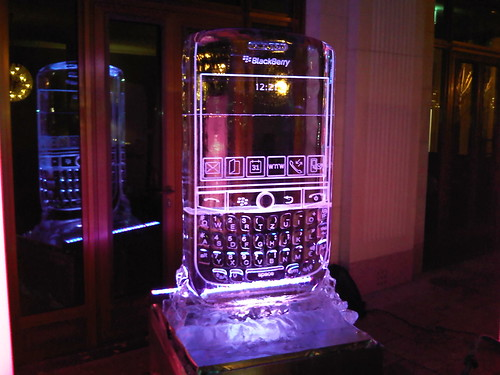 BlackBerry Javelin on Ice