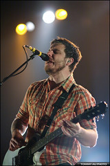 Thrice (TOMMY AU PHOTO) Tags: rock vancouver live stage guitars ubc arena concerts thrice dustinkensrue thunderbirdarena lastfm:event=716204