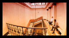 upstairs (Er_MiGuZ_the italian geek.) Tags: roma scale upstairs photomerge titanic massimo emanuele lastfloor inalto