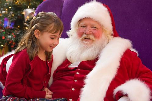 Zoe & Santa