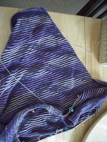 Shadow Knit Kimono