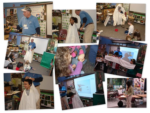 Whooping Crane Career Week Dennis Hartnett Patuxent  K, 4th