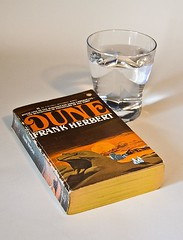 Dichotomy (The Roaming Radiographer) Tags: water glass book desert pages dune spice h2o cover arid atreides dichotomy fremen sandworm arrakis harkonnen muadib