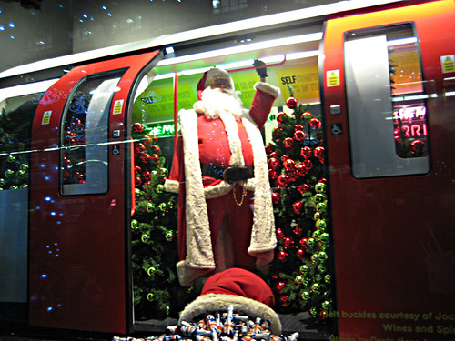 Santa on the Tube