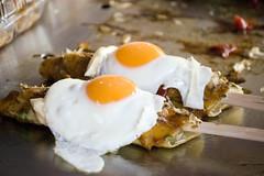 Hashimaki With Egg (Bracus Triticum) Tags: food japan 日本 fukuoka kyushu 九州 福岡 iizuka 飯塚市 福岡県 hashimaki 平成20年
