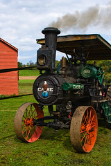 CA188 Case Steam Traction Engine (listentoreason) Tags: usa tractor industry america canon newjersey unitedstates engineering places case steam transportation agriculture score35 ef28135mmf3556isusm howellfarm howelllivinghistoryfarm casesteamtractionengine